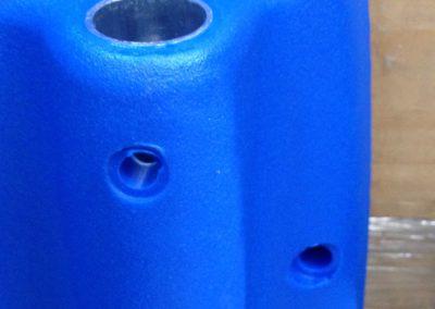 Cofano idropulitrice blu