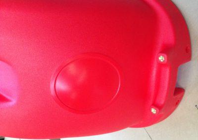 Cofano idropulitrice rosso